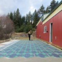 Solar Roadways Solar panels that you can drive, park, and walk on. They melt snow and... cut greenhouse gases by 75-percent?!!!