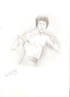 Bruce Lee-tecnica lapiz