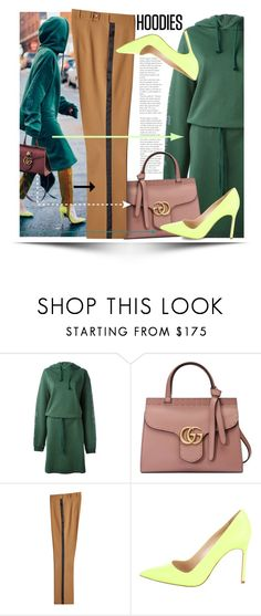 """In My Hood: Cozy Hoodies"" by ewa-naukowicz-wojcik ❤ liked on Polyvore featuring Vetements, Gucci, Etro, Manolo Blahnik and Hoodies"