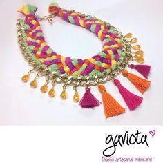 0e4ef4ce013e Las 32 mejores imágenes de Collares artesanales mexicanos
