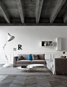 The ceiling matches the accents a lot, which makes the space not look good, I would change the color of the ceiling to white. It is subordinate
