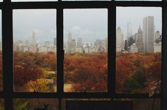 Central park view in New York city Pinterest: roos_anna