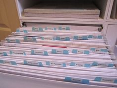 Scrapbook Paper Organization - an actual list; I will add a pattern section for . Scrapbook Paper Organization – an actual list; I will add a pattern section for each color to put