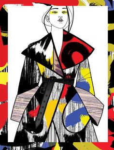 The Paris-based fashion illustrations agency Agent & Artists was created in 2008, and represents 13 illustrators with different but complementary styles. Most of their works have affinity with the field of fashion and all art is drawn by hand with only some final digital retouch. LISELOTTE WATKINS
