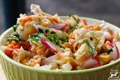 Gotuj z Prezesem: Surówka idealna do obiadu! Tortellini, Pesto, Quinoa, Dinner Sides, Side Recipes, Pasta Salad, Potato Salad, Easy, Food And Drink