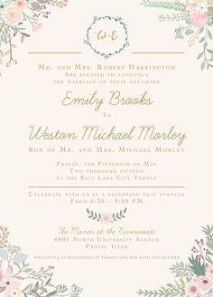 Pink floral gold and navy wedding invitation set by jeneze on etsy pink floral gold and navy wedding invitation set by jeneze on etsy invite ideas pinterest navy weddings wedding invitation sets and navy stopboris Images