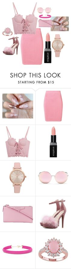 """Barbie."" by iigreencloudii ❤ liked on Polyvore featuring T By Alexander Wang, Puma, Smashbox, Vivani, Matthew Williamson, Givenchy, Kenneth Jay Lane, gorgeous, Inspired and city"