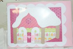 Hansel and Gretel Gingerbread Cottage card