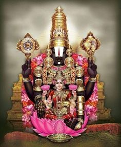 We have compiled amazing Tirupati Balaji Images from the web. The Lord Tirupati chose to stay on the Venkata Hill, which is a part of the famous Seshachalam Hills till the end of Kali Yuga. Lakshmi Photos, Lakshmi Images, Lord Murugan Wallpapers, Lord Krishna Wallpapers, Lord Photo, Saraswati Goddess, Shiva Shakti, Goddess Art, Lord Krishna Hd Wallpaper