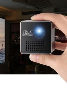 This Mini Projector is specially designed for Business Meetings, Education Training & Entertainment use, which features DLP technology, Ultra mini size, and lightweight design. Best Home Theater, Home Theater Rooms, School Projects, Projects For Kids, Mini Projektor, Cooling Blanket, Audio Room, Theatre Design, Diy Garden Projects
