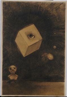 Eye, by Odilon Redon