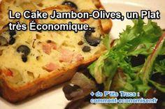 Misez sur le cake jambon-olives. Un classique pas cher, simple à préparer que tout le monde apprécie. Découvrez l'astuce ici : http://www.comment-economiser.fr/cakes-jambon-olives.html?utm_content=buffer85205&utm_medium=social&utm_source=pinterest.com&utm_campaign=buffer