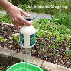 DIY Thumb Watering Pots - Perfect for watering delicate seedlings...
