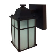 Whitfield Lighting OWL212 1-Light Outdoor Scone | Lowe's Canada
