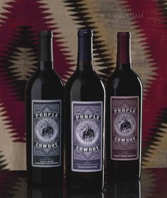@PurpleCowboy wines from Canopy Management. Lush affordable Paso Roble  appellation reds.