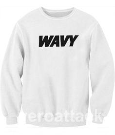 Wavy Unisex Sweatshirts