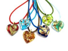 Bijuterie Online Magazin online bijuterii ieftine argint si aur powered by DA si NU Glass Jewelry, Pendant Jewelry, Jewelry Necklaces, Jewellery, Murano Glass, Glass Pendants, Washer Necklace, Handmade Jewelry, Jewels