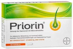 Priorin is a super-effective natural supplement for treating hair fall problems. It comprises of naturally-occurring ingredients...