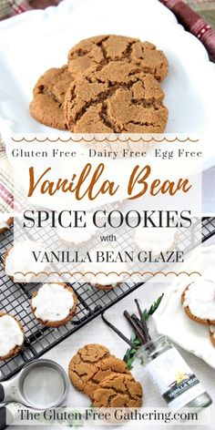 a2a187d95204 The Gluten Free Gathering - Gluten Free Vanilla Bean Spice Cookies -  Delicious crisp and chewy
