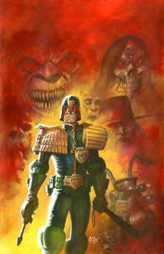 Eric Powell Judge Dredd Cover