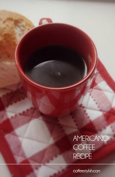 What kind of coffee are you drinking on Labor Day? Americano coffee! Click here for recipes. #Coffee #LaborDay #MrCoffee