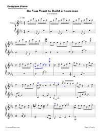 Do You Want to Build a Snowman-Frozen OST Stave Preview 1