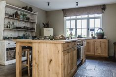 "This amazing countrystyle kitchen is from our feature ""Grand Appearance"""