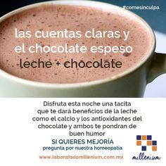 Para ese frío de las mañanas (o las noches) tómate una tacita de chocolate con leche. Conoce aquí que aporta a tu salud.