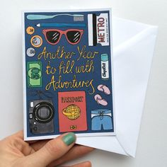It was after a short period of travelling that I realised just how many adventures you could fit within 365 days! Illustrated with all the things