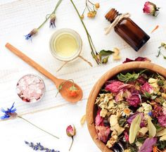 Let's be honest: It's impossible not to create magic when crystals, aromatherapy, herbs and flowers are involved.