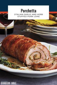 Recipe Using Pork Loin, Recipes Using Pork, Pork Roast Recipes, Barbecue Recipes, Grilling Recipes, Meat Recipes, Crockpot Recipes, Yummy Recipes, Bbq