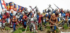 WoTR 28mm Miniatures, Fantasy Miniatures, Warhammer Armies, Edward Iv, Fantasy Figures, Wars Of The Roses, Military History, Figure Painting, Knights