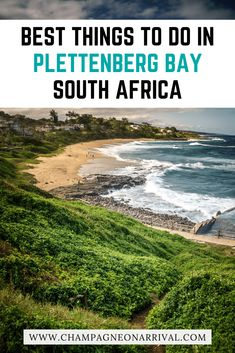 Our top recommendations for the best things to do in Plettenberg Bay with pictures & travel tips including how to find best beaches, views and seafood. Travel Around The World, Around The Worlds, Travel Guide, Travel Ideas, Africa Travel, Luxury Travel, South Africa, Travel Inspiration, Traveling By Yourself