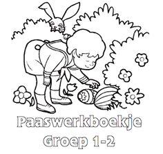 Paaswerkboekje Groep 1-2