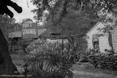 Nice black and white photo, outskirts of Liberty Hill.  By Ron Moore of Cobblestone Photographics.