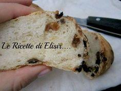 Pane dolce alle gocce di cioccolato e uvetta le ricette di elisir