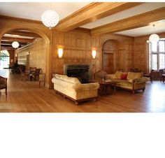 Inside Coombe Lodge