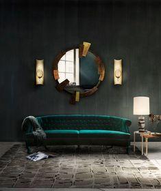 Top 20 Luxurious Modern Sofas You Will Want To Have Next Season | Living Room Inspiration. Velvet Sofas. Home Decor. #modernsofas #homedecor #livingroomideas #Fall #Winter Read more: http://www.brabbu.com/en/inspiration-and-ideas/interior-design/luxurious-modern-sofas-want-season