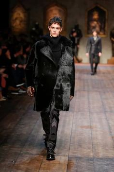 Dolce & Gabbana  Winter 2015 Men Fashion Show.
