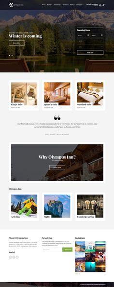 Olympus Inn Theme on Behance