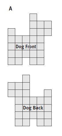 Piece a Patchwork Scottie Dog Illustration A