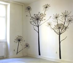 Giant Hogweed wall stickers, maybe we should get some for the office?