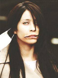 The Split Mouthed Woman. -Carved... This movie was freaking amazing..