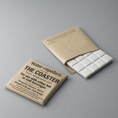 THE COASTER ザ コースター <br>タイル製 ホワイト 四角 スクエア