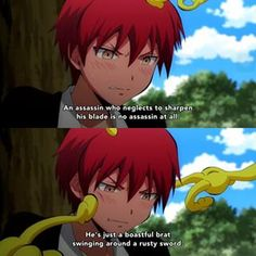 Aww, Karma. | Assassination Classroom
