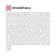 Almeida França by BR/BAUEN, via Behance