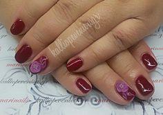 #nails #nailart #3dflowers #beautymakesyouhappy