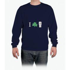I (shamrock) Guinness Long Sleeve T-Shirt