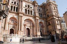 Cathédrale de Malaga, Andalousie - Costa del Sol (Espagne)
