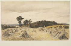 A Harvest Field | Palmer, Samuel | V&A Search the Collections